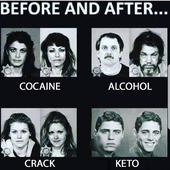 El ANTES y el DESPUÉS... ¡verídico! 😁 #keto #ketonix #cetogenica #lowcarb #omad #ayuno #if #cetonas